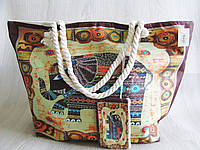 Стильная пляжная сумка Слон, фото 1