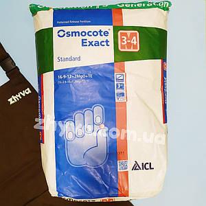 Osmocote Exact Standard (16-9-12+2MgO+TE) 3-4 міс. 25кг (Осмокот)