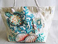 Стильная пляжная сумка Черепаха