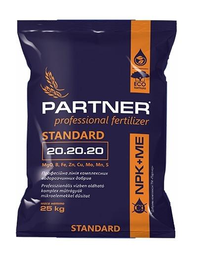 Комплексное удобрение Партнер (Partner Standart) 20.20.20 + ME, 25 кг