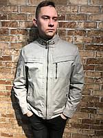 Мужская весенне осенняя куртка ветровка парка короткая катон