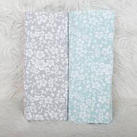 Детские пеленки мягкие, набор из 2-х фланелевых пеленок 80*100см, пеленка фланелевая для новорожденного