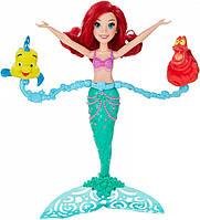 Disney Princess Spin & Swim Ariel Лялька Аріель для гри з водою. Hasbroпринцессы Плавающая кукла Ариэль