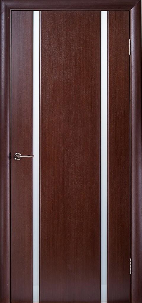Двері ГЛАЗГО-2 Полотно+коробка+2 до-та лиштв+добір 90мм, шпон