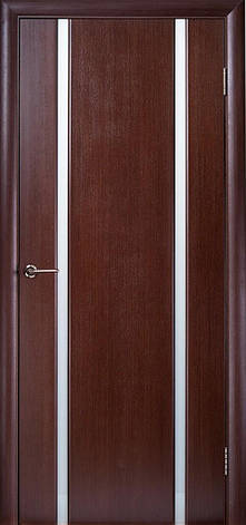 Двері ГЛАЗГО-2 Полотно+коробка+2 до-та лиштв+добір 90мм, шпон, фото 2