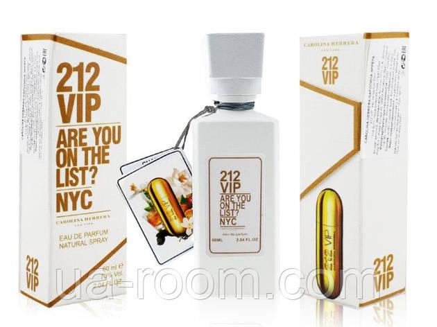 Мини-парфюм 60 мл. Carolina Herrera 212 Vip woman, фото 2