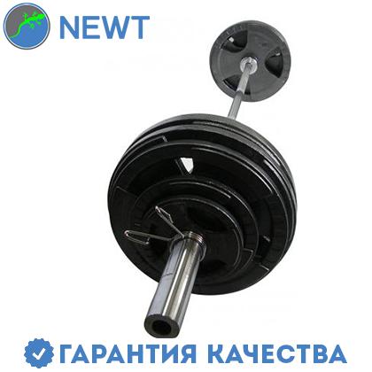 Штанга  олимпийская Newt 103 кг. Гриф 1,8 м., фото 2