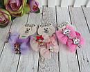 Резиночки для волос бантики с куклами LOL 10 пар/уп., фото 4