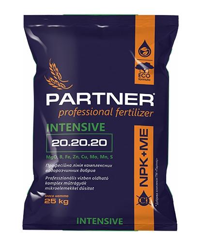 Комплексное удобрение Партнер (Partner Intensive) 20.20.20 + ME, 25 кг