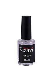 Vizavi ,,top coat glass,, (верхнє покриття для лаку, швидковисихаючий) 12 мл.