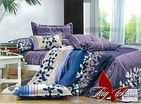 ✅ Двуспальный Евро комплект постельного белья (Ранфорс) TAG R3001