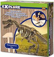 Набор Ses Creative серии Исследователь -  Раскопки скелета Трицератопса (инструменты, окаменелости)