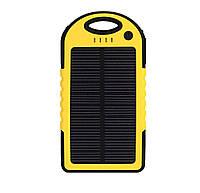 Внешний аккумулятор с солнечной батареей Power Bank Noisy S50 10000 mAh Yellow hubdDOE49819, КОД: 359039