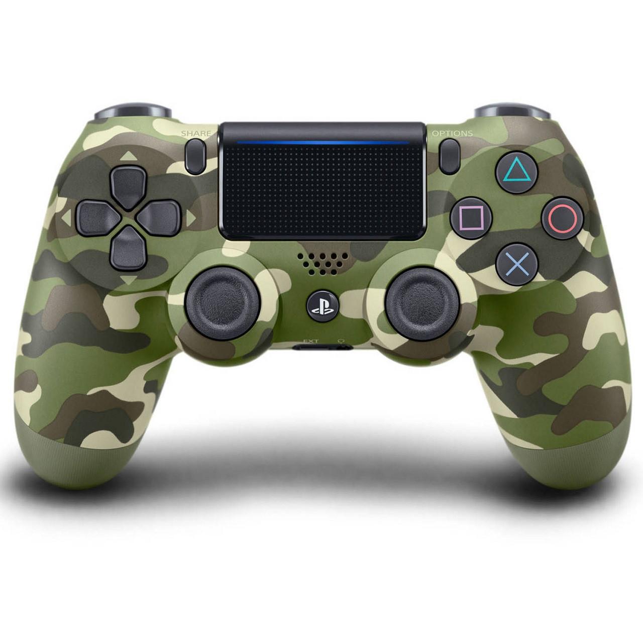Геймпад (Джойстик) Sony PS4 Dualshock 4 V2 Green Camouflage