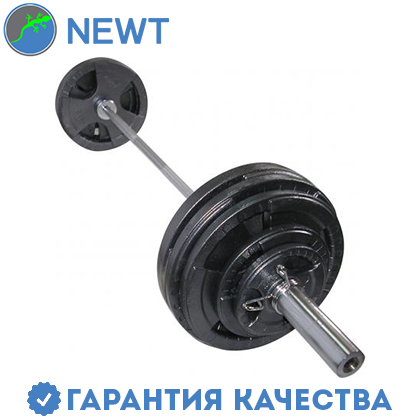 Штанга  олимпийская Newt  120 кг. Гриф 2,2 м., фото 2