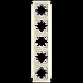 П'ятірна вертикальна рамка VIKO Carmen, фото 3