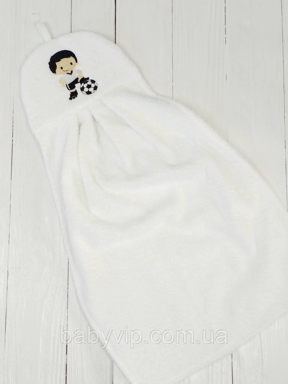 Детское полотенце для рук футболист
