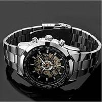 Мужские механические часы Winner Skeleton