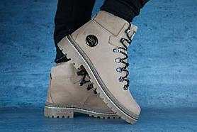 Ботинки Shark B150 (зима, мужские, натуральная кожа, оливковый)