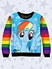 Детский свитшот Rainbow Dash