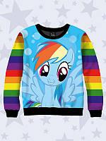 Детский свитшот Rainbow Dash, фото 1