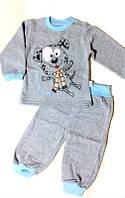 Пижама трикотажная на баечке Пеппи для мальчика