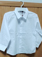 Рубашка хлопок белая Beneti для мальчика