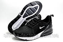 Мужские кроссовки в стиле Nike Air Max 270, Black\White, фото 3