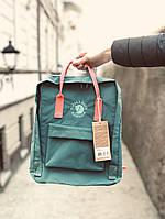 Рюкзак Fjallraven Kanken Classic, рюкзак Канкен, голубой портфель канкен, фото 1