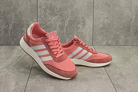 Кроссовки G 3108 -2 (Adidas Iniki Runner) (весна/осень, женские, текстиль, розовый)