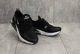 Кроссовки G 3074 -9 (Nike Air Max 270) (весна/осень, женские, текстиль, черный)