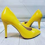 Желтые туфли лодочки, фото 4