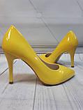 Желтые туфли лодочки, фото 2