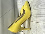 Желтые туфли лодочки, фото 5