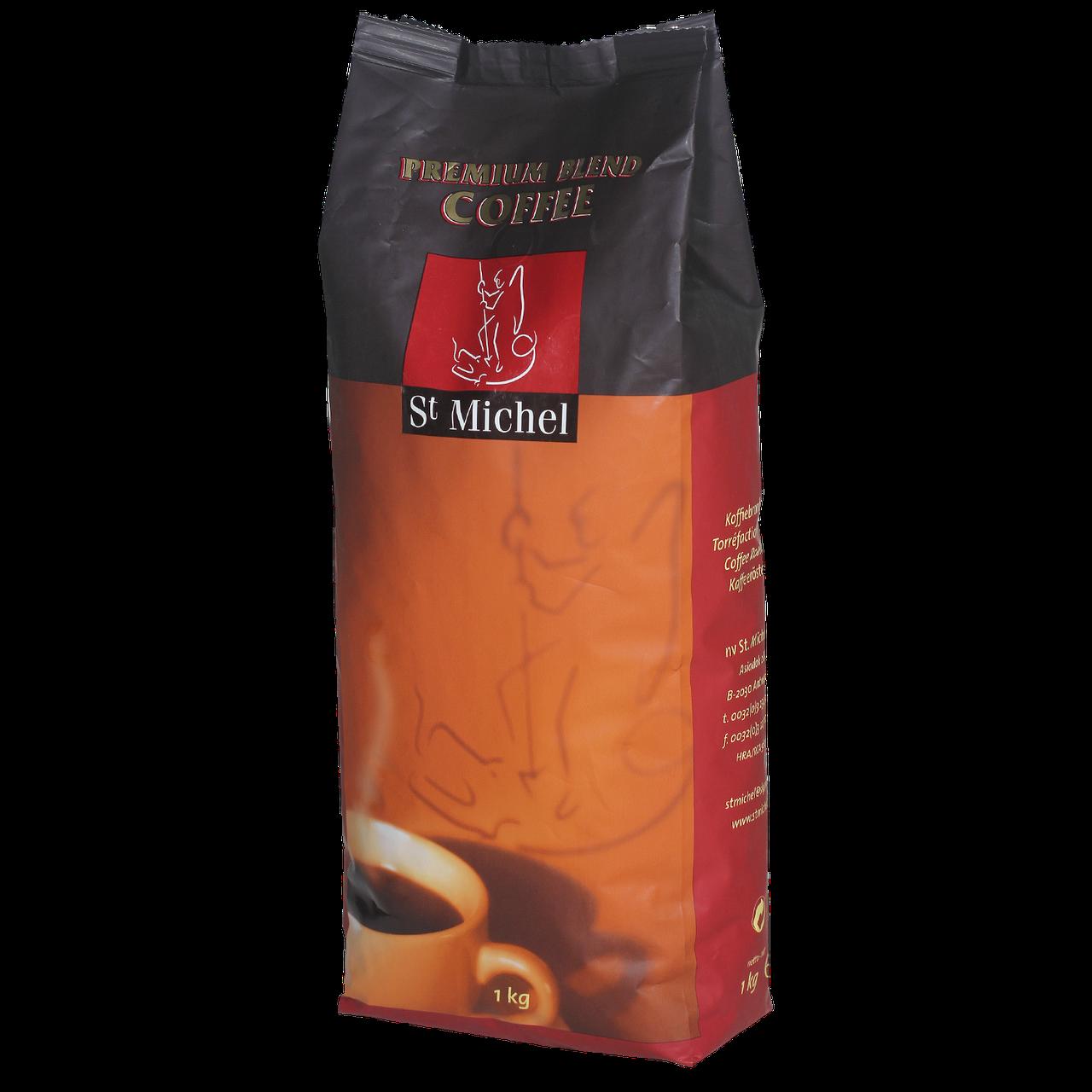 Кава в зернах St Michel Moka 1кг 80/20