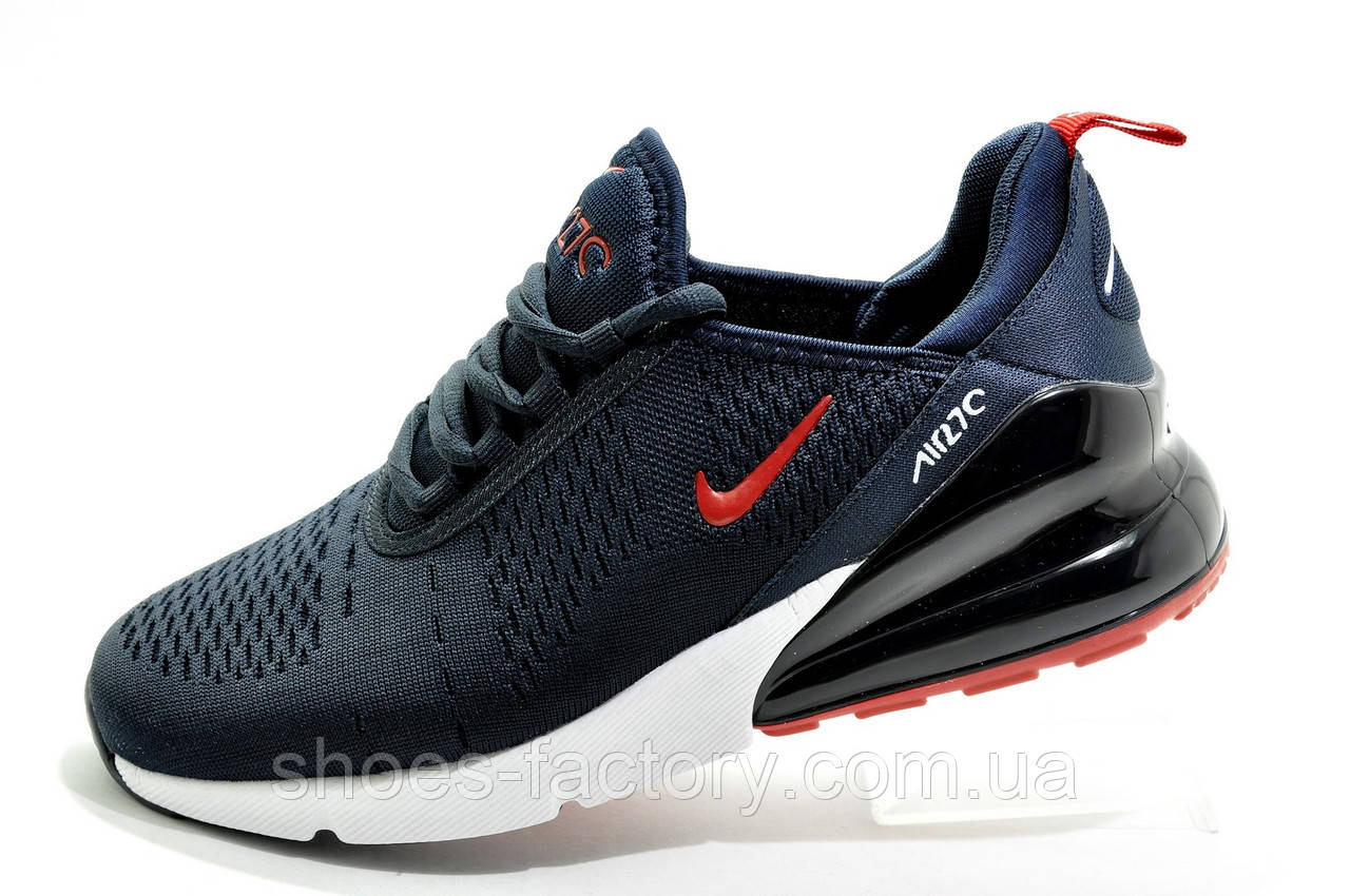 Мужские кроссовки в стиле Nike Air Max 270, Dark blue\White