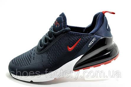 Мужские кроссовки в стиле Nike Air Max 270, Dark blue\White, фото 2
