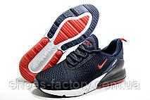 Мужские кроссовки в стиле Nike Air Max 270, Dark blue\White, фото 3