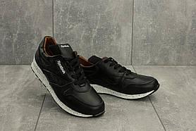 Кроссовки Yuves R 250 (Reebok) (весна/осень, женские, натуральная кожа, черный)