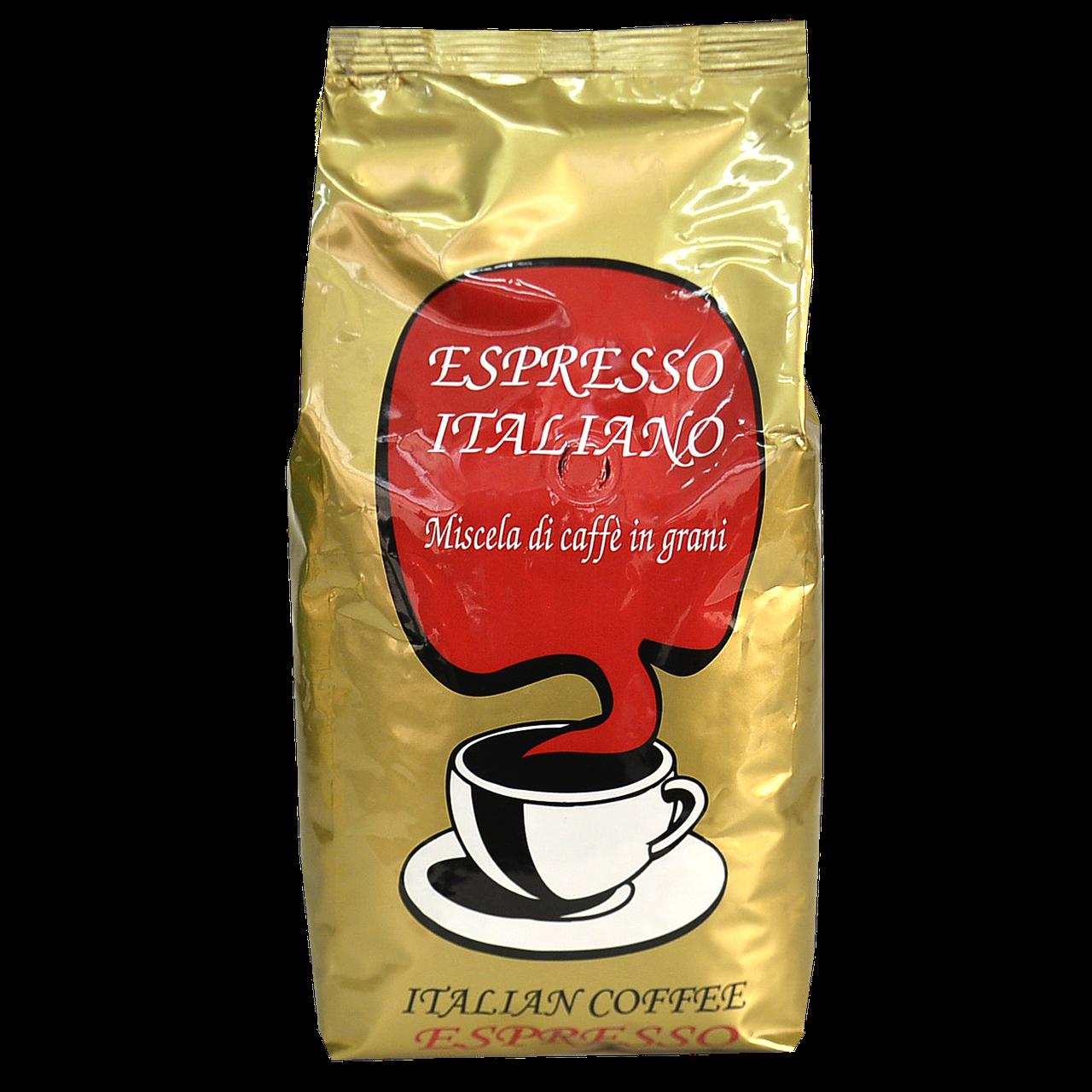 Кава в зернах Caffe Poli Еспрессо італьяно 1 кг 50/50