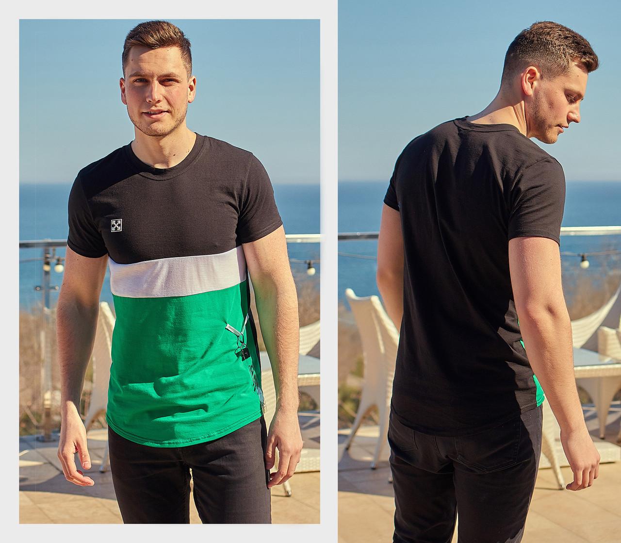 Мужская модная футболка  РО1196