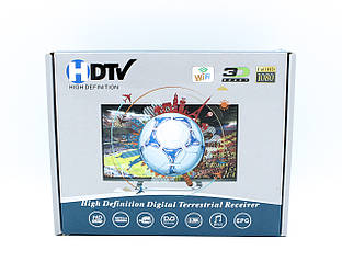 Цифровой Тюнер Т2 DV3 T5IPTV YouTube WiFi 4k(1080) Full HD (без гарантий)