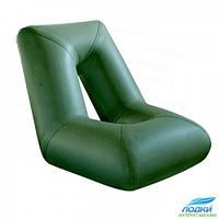 Надувное кресло лодки Колибри зеленое