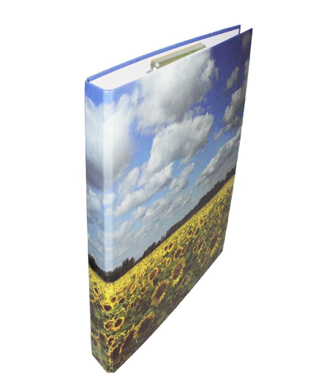 Папка с зажимом Clipboard, А4, 25 мм, полноцветная, PP-покрытие