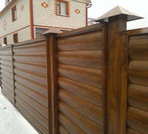 Забор высота-2 м