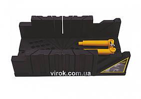 Стусло VIROK пластмасове із затискачами 320х120х75 мм (4,5+M) (18)