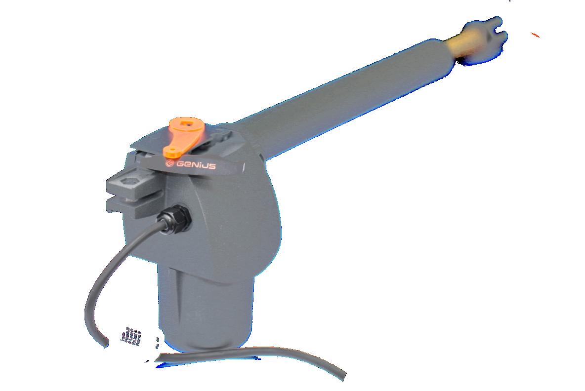 Привод FAAC G-Bat 400 SX (левосторонний) для распашных ворот со створкой до 4 м