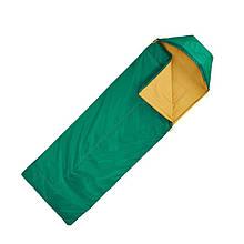 Спальный мешок FORCLAZ 15° Queсhua Кокон Зеленый (120050515V-681)