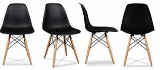 Набор из 4 стульев для кухни и бара GoodHome PC-005 черный (8009-4)