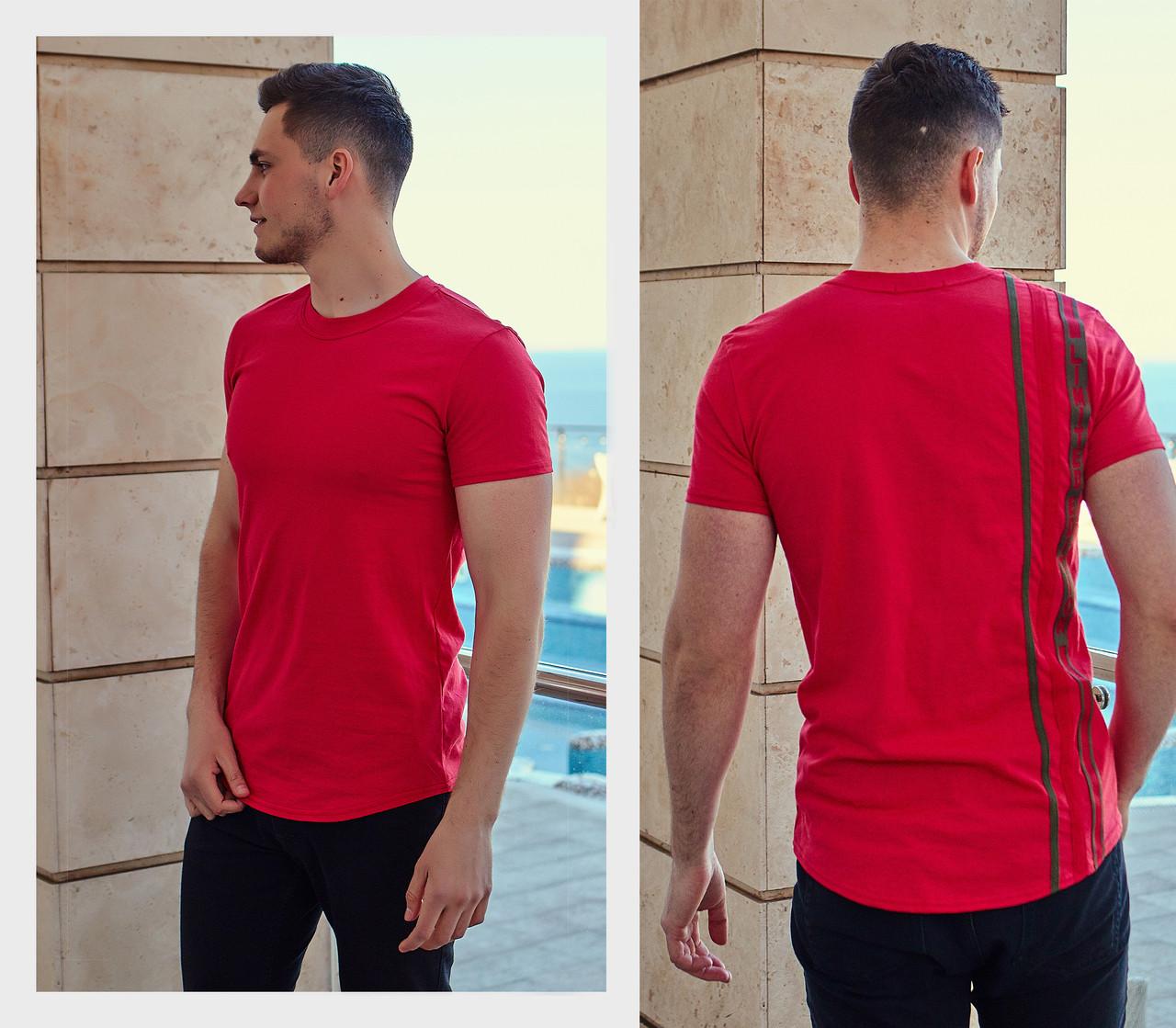 Мужская модная футболка  РО1193